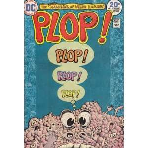Plop  #3 Back Issue Comic Book (Feb 1974) Very Good