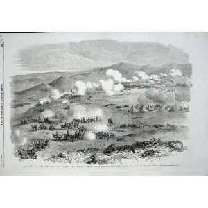 1855 Battle Heights Kars Fight Tahmasb Tabia War Army