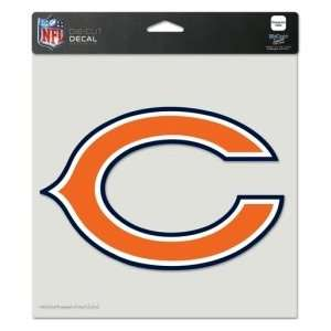 Chicago Bears Die Cut Decal  8 in. x 8 in. Color