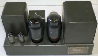 Vintage Quad II Valve (Tube) Power Amplifier (One of Four Listed