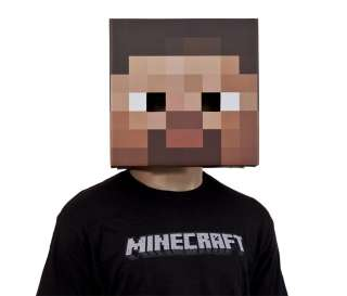 Steve Kopf Pappe Block Spiel Mine Craft Head passend zu T Shirt