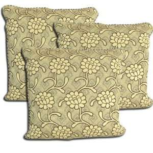 Set of 3 Floral Design Indian Cushion Pillow Cover New
