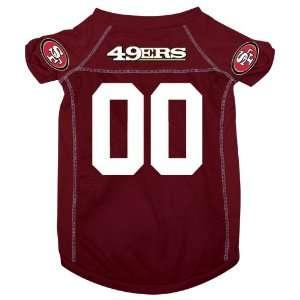San Francisco 49ers Pet Dog Football Jersey LARGE
