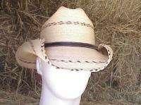 SUNBODY KENNY MEXICAN PALM COWBOY WESTERN HAT