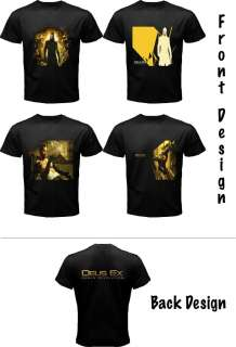Deus Ex Human Revolution PS3 & XBOX 360 Games T Shirt with Cool Design