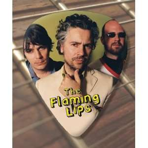 Flaming Lips Premium Guitar Pick x 5 Medium Musical