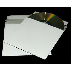 10 Paperboard Slim Single CD / DVD Mailer   5x 5 Self