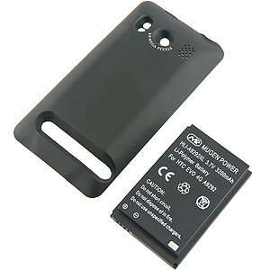 Mugen Power Extended Battery w/ Battery Cover for HTC EVO 4G