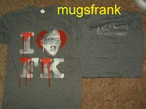 Nightmare on Elm Street I Love Freddy Krueger Shirt