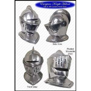 Medieval Knights Helmet   FULL SIZE ARMOR:  Sports