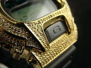 SHOCK/G SHOCK MENS DIAMOND WATCH GOLD JOE RODEO JOJO