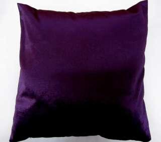 Shiny Shimmer Velvet Cushion/Pillow/Throw Cover*Custom Size*
