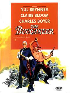 1958 Action Classic Charlton Heston in The Buccaneer