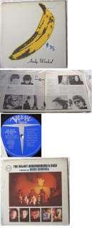 Banana cover Velvet Underground Nico LP Record Verve Stereo