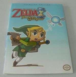 The Legend of Zelda Phantom Hourglass DS Game Guide NEW 050694248219