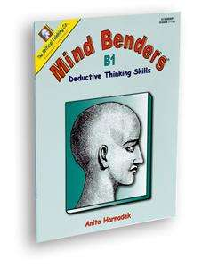 Middle High School Mind Benders Thinking Puzzle Book
