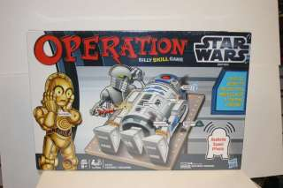 STAR WARS OPERATION BOARD GAME NEW IN BOX