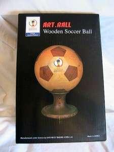FIFA World Cup 2002 wooden soccer ball art.ball Korea