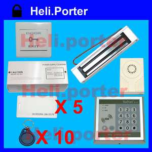 Electro Magnetic Door Lock Access Control System Full Set A2