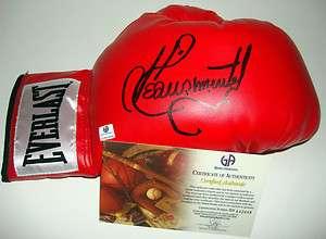 Pimentel Signed Auto Autographed Everlast Boxing Glove Boxer