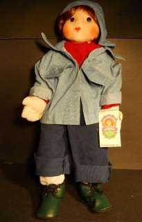 Frumpkins Soft Sculptured Doll Franky Hand Crafted NIB