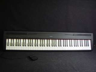 Yamaha P 95B 88 Key Electric Piano Keyboard P95 B w/ Sustain Pedal