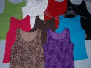 NEW Plus Size Womans Ribbed Cotton Tank Top  Sizes 1X 2X 3X  Bobbie