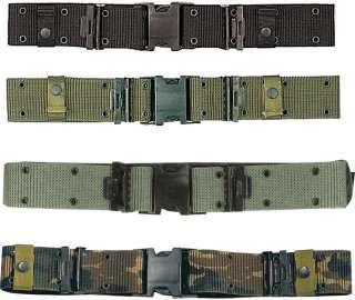 Marine Corps Style Quick Release Nylon Pistol Belt