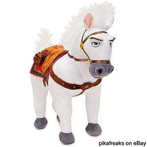 Tangled Rapunzel New Disney Princess Maximus Horse Posable Plush USA