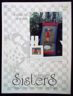 Sisters & BF Cross Stitch Chart   Little Bit of Heaven