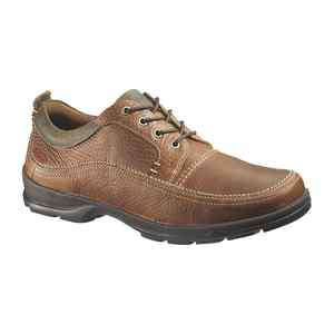 Hush Puppies STATIC Mens Brown Leather Oxford Shoes H101120
