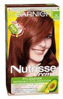 Garnier Nutrisse Creme Pflegende Intensiv Coloration, 065 Strahlendes
