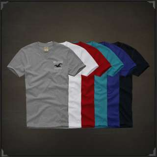 Hollister By Abercrombie & Fitch V Neck Tees Shirt Highway 101