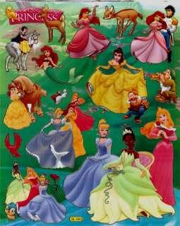 Princess & Frog Tiana Belle Aurora Disney Sticker BL665