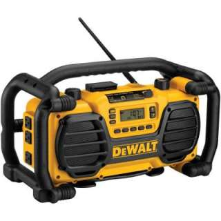 to 18 Volt Heavy Duty Worksite Radio Charger DC012