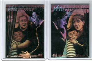 Mad Magazine Alfred E. Neuman Presidents Hologram Card
