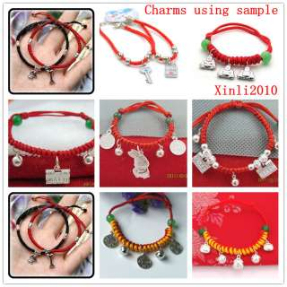 Elephant 925 Sterling Silver beads Pendant fit charm bracelet