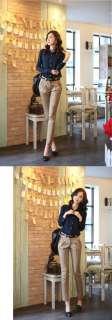 8204 Japan Korean Fashion Style Office Lady Chiffon Shirt Blouse Top