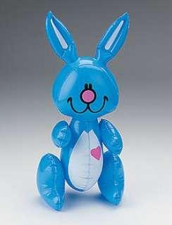15 Inflatable EASTER BUNNY Basket Fillers Toys Props Kids