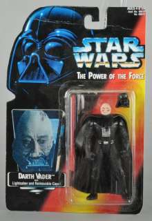 Vintage Custom Star Wars POTF2 Darth Vader w/ Long Lightsaber