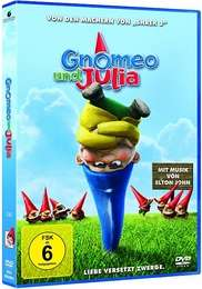DVD   Gnomeo und Julia, 1 DVD   Kelly Asbury   84 Min.