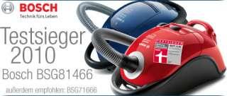 Außerdem wurde der Bosch BSG71666 formula hygienixx im April 2009 von