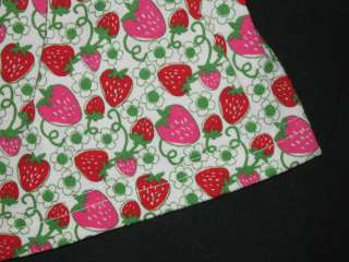 NEW STRAWBERRY PATCH Skirt Girls Summer Clothes 2T