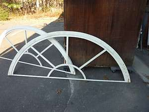 arched window frames SHOP DECOR pieces 8 long x 36 high x 1.5 frame