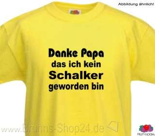 Dortmund T Shirt Danke Papa das ich kein Schalker