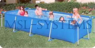 Intex Rechteck Pool Becken 450x220x85cm Schwimmbecken