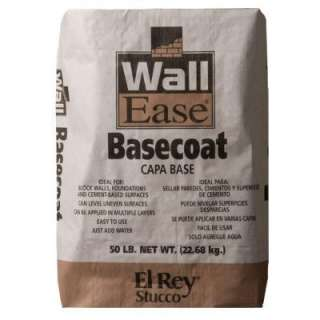 El Rey Stucco Wallease 50 Lb. Gray Basecoat 1466 at The Home Depot