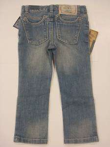 New Ralph Lauren Girls Blue Polo Denim Jeans 12 14 16