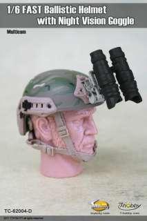 scale TOYS CITY FAST Ballistic Helmet 62004D MULTICAM
