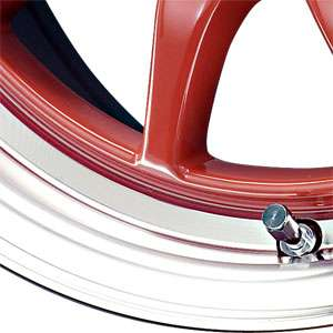 New 15X7 4x100 DRAG DR 16 Red Wheel/Rim